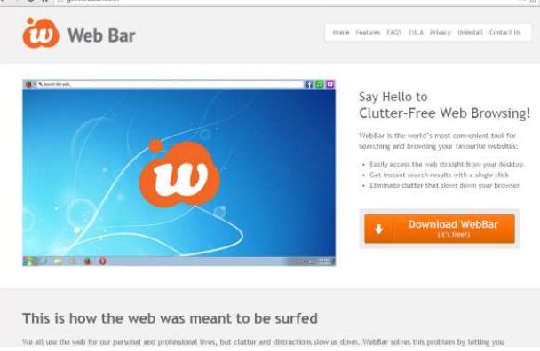 Web Bar