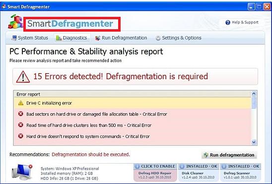 smart Defragmenter