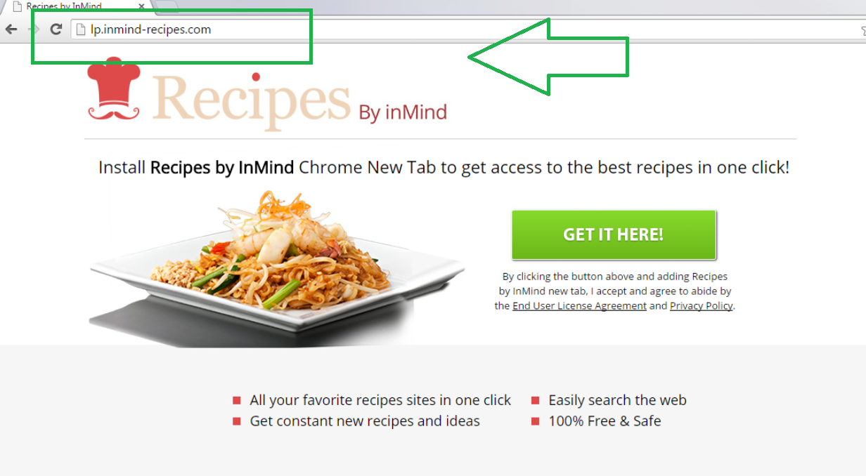 Recipes By inMind New Tab