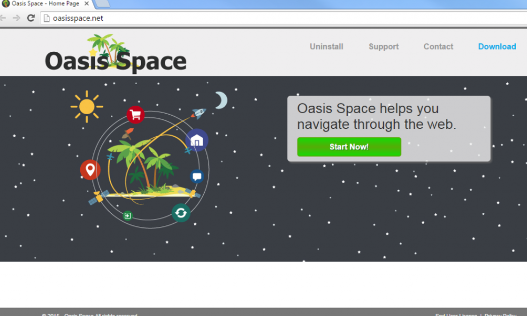 Oasis Space Ads