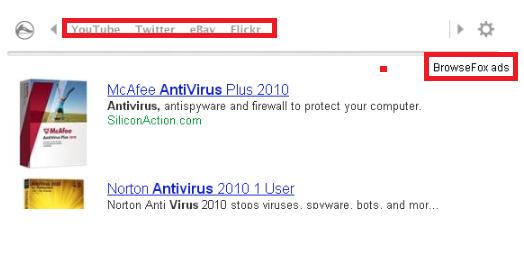 BrowseFox FBB Virus