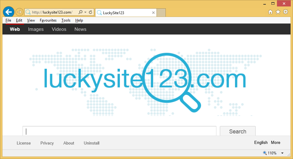 Lucky Site 123 Redirect Virus