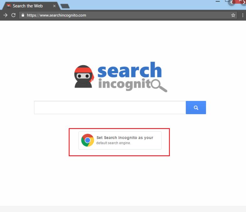 Incognito Searches Hijacker