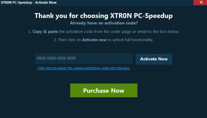 Xtron PC Speedup