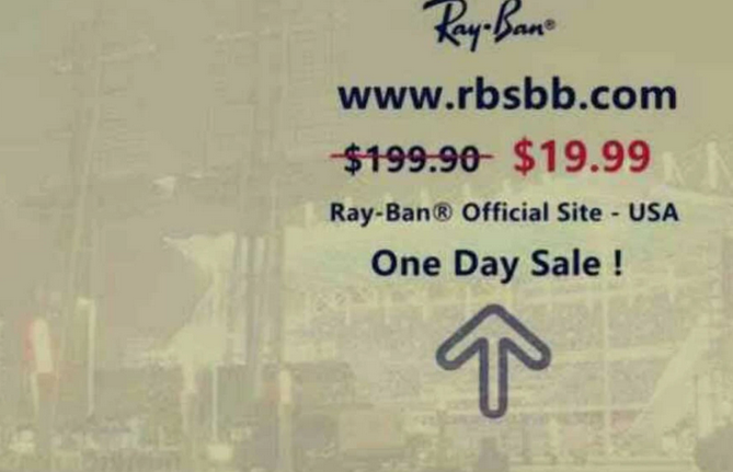 Instagram Ray-Ban SCAM
