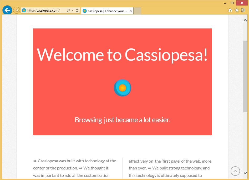 Cassiopesa virus