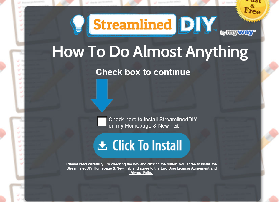StreamlinedDIY Toolbar