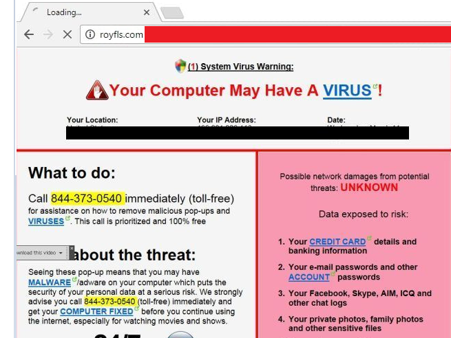 Remove Royfls com Redirect – WiperSoft Antispyware