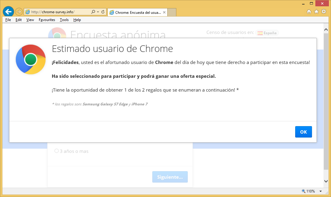 Chrome-survey