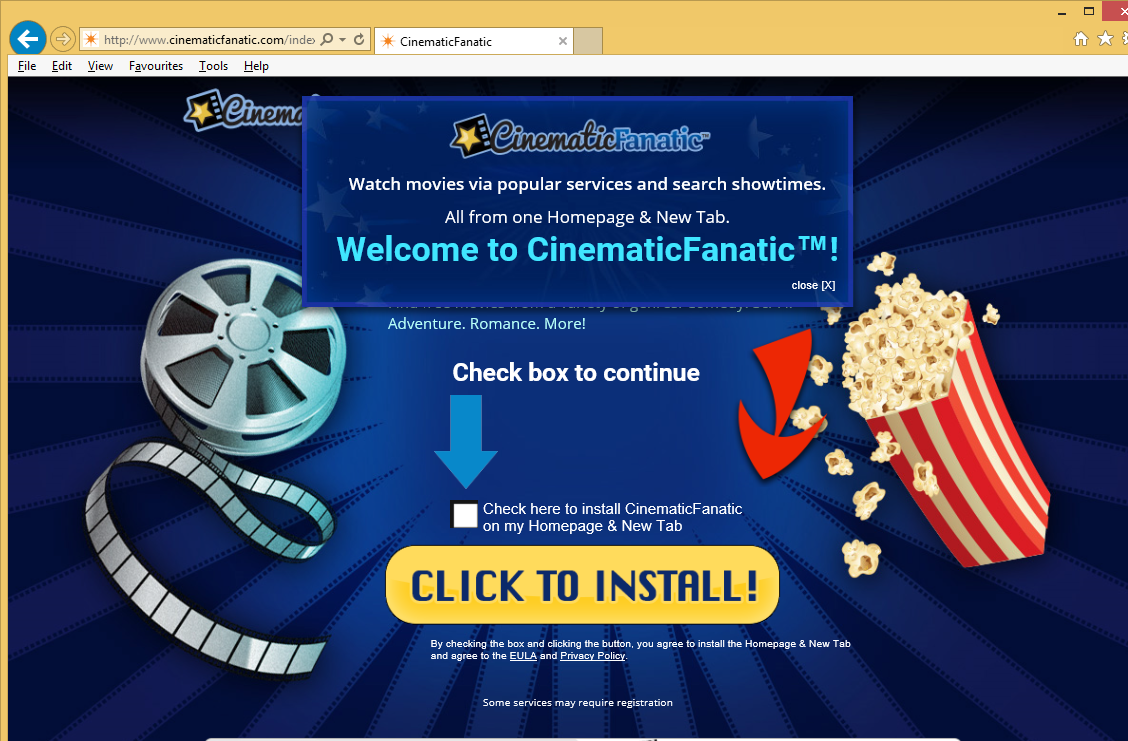 CinematicFanatic Toolbar