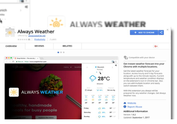 Always Weather Search