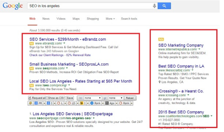 Fake Google Ads-SEO