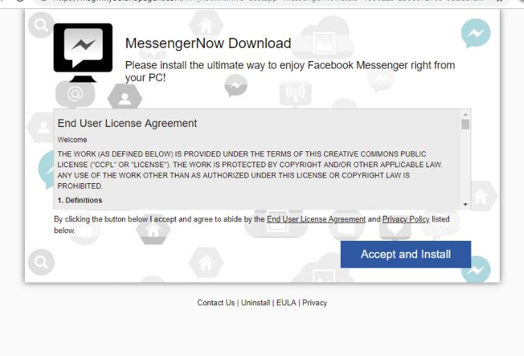 MessengerNow adware