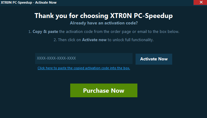 Xtron PC Speedup